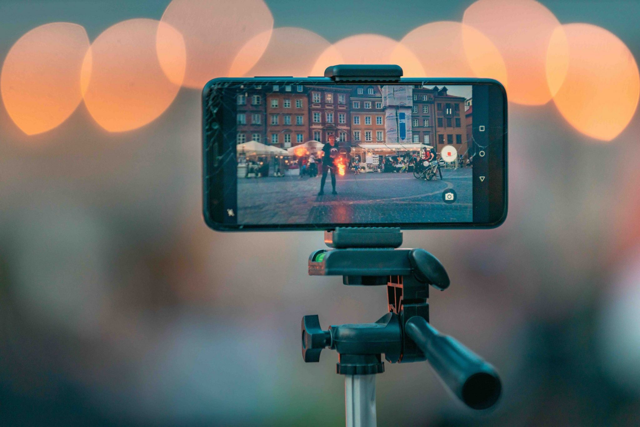 produrre più contenuti: smartphone