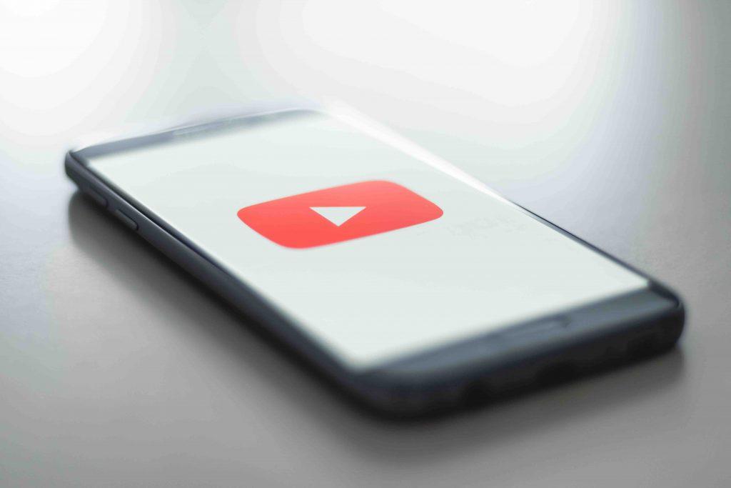 iniziare su youtube: schermata